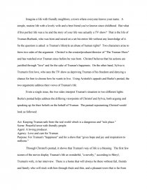 truman show ethical or unethical college essays zoom