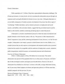 s urbanization essays zoom