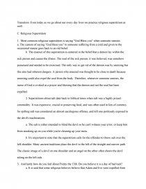 superstition informative speech term papers zoom zoom zoom zoom