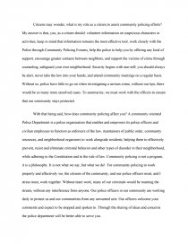 Compare And Contrast Essay On High School And College Essay Preview Community Policing Zoom Zoom Zoom Zoom  Essay Vs Research Paper also Religion And Science Essay Community Policing  Research Paper Essay Research Paper
