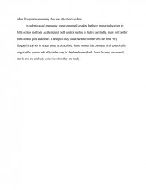 Consequences Of Premarital Sex  Term Papers Essay Preview Consequences Of Premarital Sex Zoom Zoom
