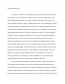 World Literature Essay