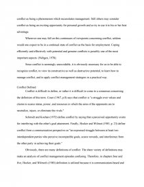 Narrative Essay Example High School  Example Of A Proposal Essay also Examples Of Essay Proposals Conflict Management Blake And Mouton  Essays Science Fiction Essay