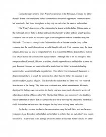 Night father son relationship essay