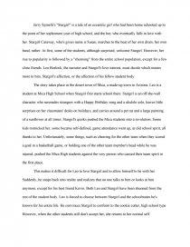 stargirl essays zoom zoom zoom