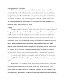 sickle cell anemia college essays zoom