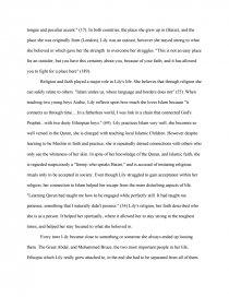 outcast essay