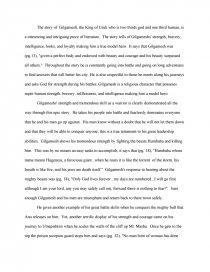 gilgamesh a hero essays zoom