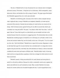 macbeth sanity essay essays zoom