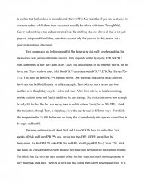 what we talk about when we talk about love essay