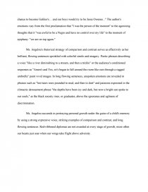 Proposal Essay Sample Essay Preview Maya Angelou The Graduation Zoom Zoom Example Of A Good Thesis Statement For An Essay also Proposal Example Essay Maya Angelou The Graduation  Essays Essay On Healthy Eating Habits