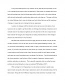 Critical Thinking Application Paper