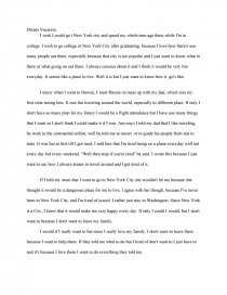 The dream of a holiday maker on a rainy night essay graduate student internship resume