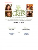 Movie Review - the Odd Life of Timothy Green