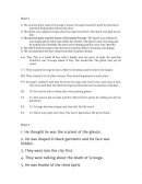 A Christmas Carol Stave 3 Answers- Olp