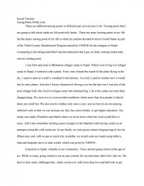 Essay on the turning point top persuasive essay editing service uk