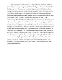 my favorite movie essay twilight