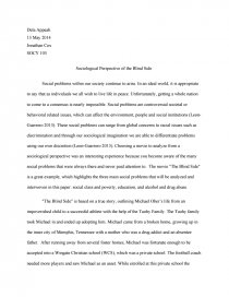What You Don't Know About Sociological Perspective Research Paper Topics