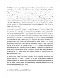 aldi case study analysis