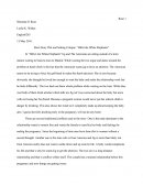 "Short Story Plot and Setting Critique of ""hills like White Elephants"""