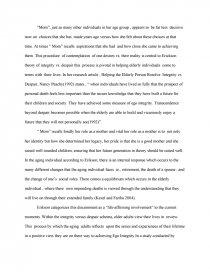 integrity versus despair essay