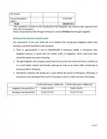 biopure case analysis