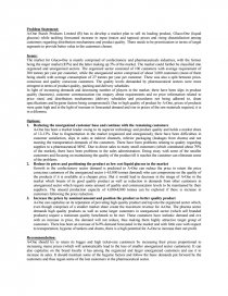decision sheet a one starch products case study similar essays