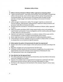 alcoa safety case study