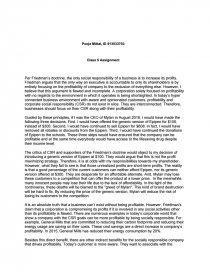 friedman doctrine vs csr essay zoom zoom