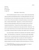 Robber Barons - Historical Essay