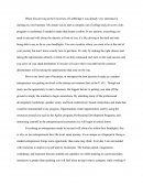 My Dream - Personal Essay