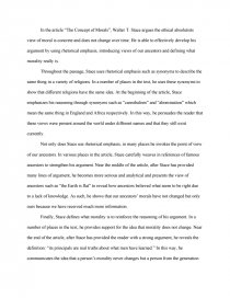 Concept Of Morals  Walter T Stace  Essay Zoom Zoom