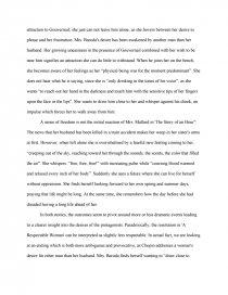 respectable woman essay