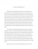 Western Civilization Reading Essay