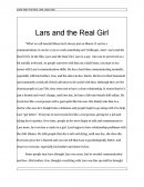 Lars and the Real Girl Analysis
