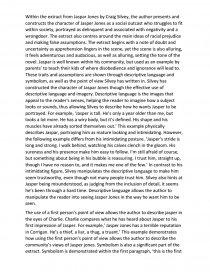 Jaspar Jones by Craig Silvey - Essay