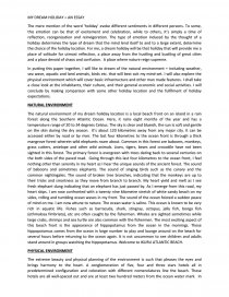 A narrative essay the dream of a holiday maker on a rainy night sample technical professional resume