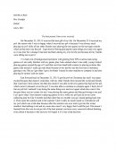 The Best Present I Have Every Received - Personal Essay
