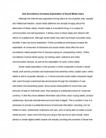 research paper on social media