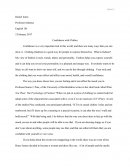 English 101 Confidence with Clothes Research Paper