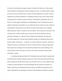 Technology and family essay college basketball coach resume