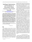 Intelligent Optimization and Scheduling of Networked Control Systems Using Neural Network