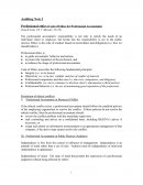 Professional Ethics - Code of Ethics for Professional Accountants