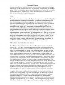 Family Law Essay  School Discipline Essays also Essay On John Proctor Haunted House  English Short Story  Creative Writing Methodology Essay